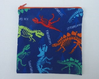 READY TO SHIP reusable sandwich and snack bags, zippered, eco friendly foodsafe lunch bags