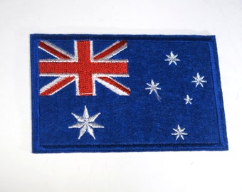 "Iron-on ""Australia flag"", applique, application (P89)"