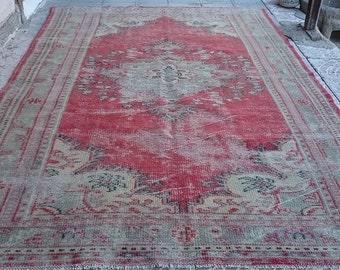 Vintage TURKISH  Oushak  Rug  106x71