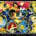cross stitch pattern, cross stitch, Disney Heroes 10 - Disney Princess 1 - cross stitch pattern - PDF pattern.