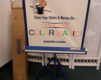 Free Shipping!! Da-Lite Movie Projection Screen Salesman Sample