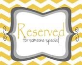 Reserved: Lauren S.