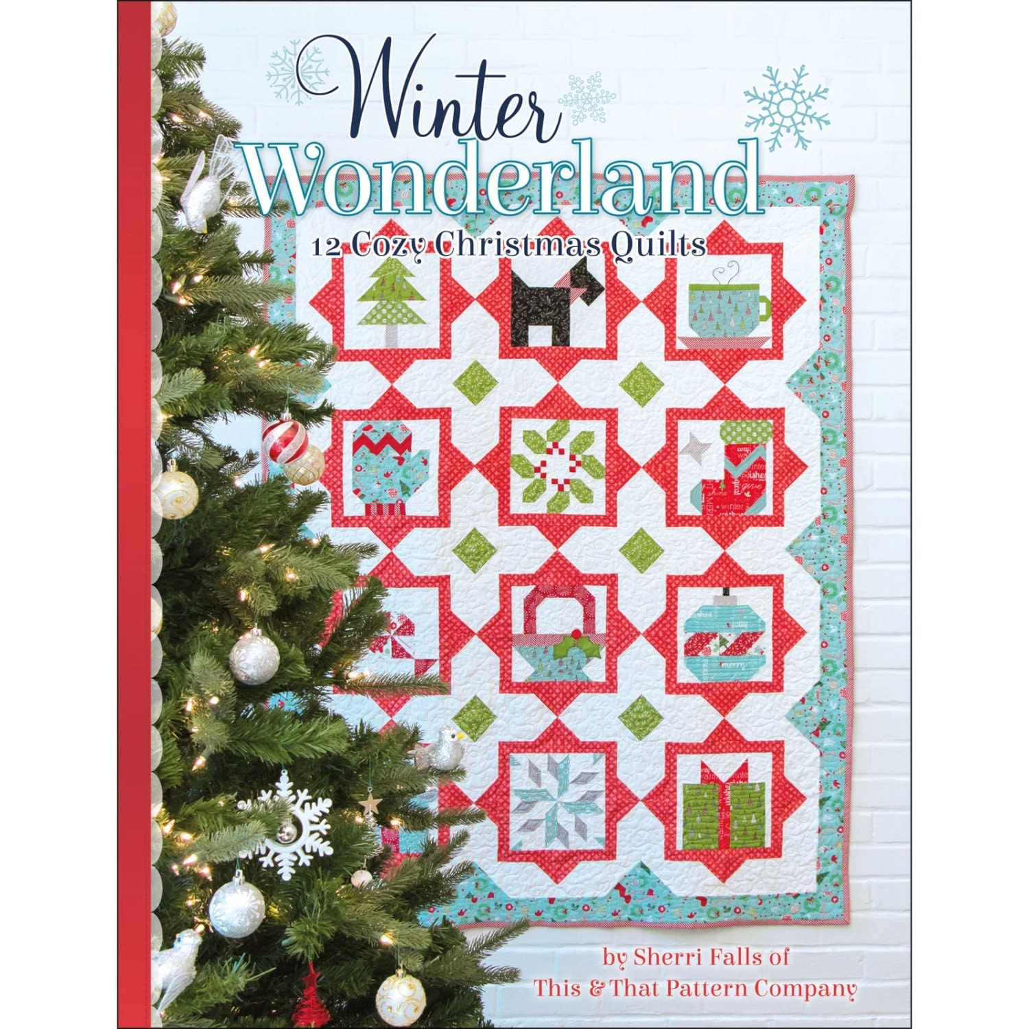 Christmas Quilt Pattern Book/ Winter by ChristmasJul on Etsy