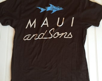1980's Vintage Maui and Sons