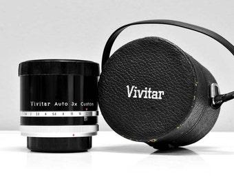 Canon FD / FL Automat Tele Converter 3X4  BY Vivitar  - Vintage camera lens converter- Film photography