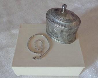 European Charm Bracelet Snake Chain Bracelet Pandora Compatable Charm Bracelet