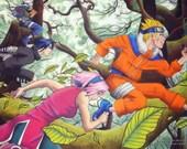 Naruto Team 7 ART PRINT...