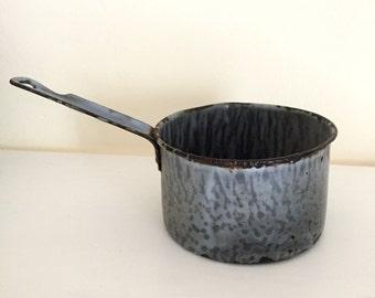 Vintage Enamel Ladle, Cup, or Dipper