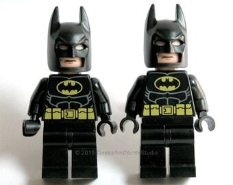 Superhero Cuff Links - LEGO Batman Cufflinks - Cufflinks Wedding Geek - Mens Cufflink - Groomsmen Gift - Best Man - Father of the Bride Gift