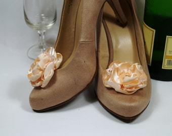schuhclip, bridal shoe clips, shoe jewellery, wedding designed shoes, goodbye hen, flower brooch.