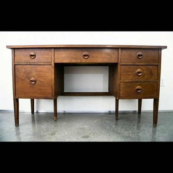 Items Similar To Mid Century Modern Desk Danish Stanley