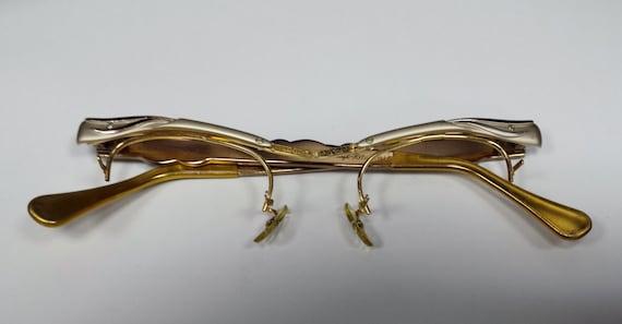 Vintage Gold Eyeglass Frames : Vintage Gold Filled Styl-Rite Eyeglass Frames by DandKJewelers