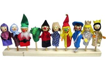 Finger Puppets 9 pieces