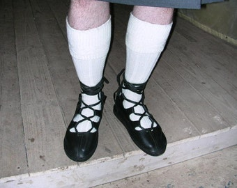 Black Men's Gilly Shoe