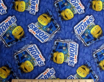 Per Yard, Chuggington Fabric Blue From SPX