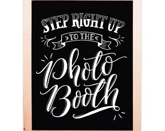 Photobooth Chalkboard