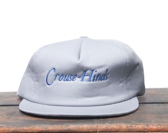 Vintage Crouse Hinds Explosion Proof Electrical Components Trucker Hat Snapback Baseball Cap