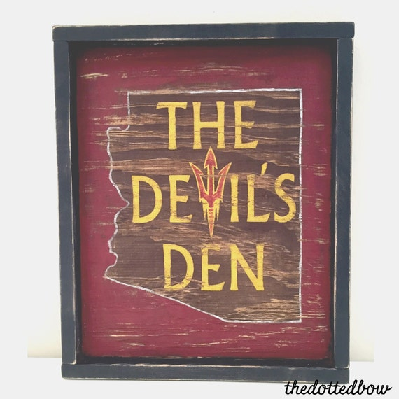 Man Cave Signs Sports : Items similar to man cave sports team state wood sign on etsy