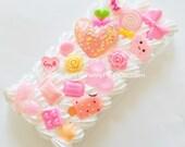 Handmade Decoden iPhone 6 Plus Case Kawaii Kitsch