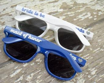 Bridal Bachelorette Party Personalized Sunglasses