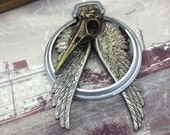 DR WHO steampunk necklace Handcrafted artistic jewelry -The Victorian Magpie