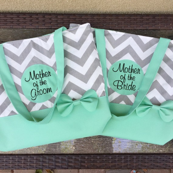 Mother of the Bride and Groom Tote Set