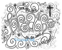 holy spirit coloring pages print - unique prayer coloring page related items etsy