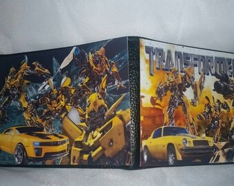 Bumblebee Transformers Movie Bi fold wallet