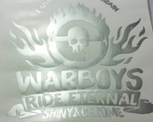 Warboys chrome decal