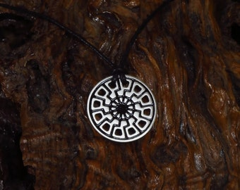Sun Wheel Necklace