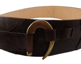 Handmade Leather Belt Unique style