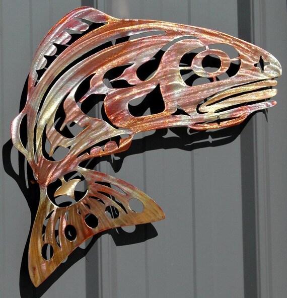 Metal Wall Decor Etsy : Metal art copper wall decor by humdingerdesignsetsy on etsy