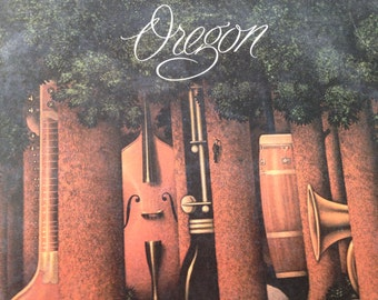 Oregon - Out Of The Woods - vinyl record