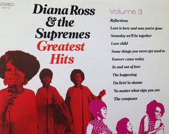 Diana Ross and The Supremes - Greatest Hits Volume 3 - vinyl record