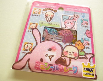 KAWAII Cute Sticker Flakes Sack Crux 52 pcs