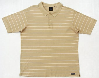 Keith Haring Shirt Men XL Keith Hare Striped Polo Shirt