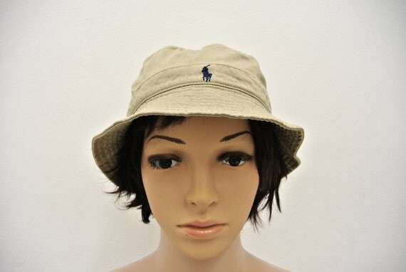 Polo ralph lauren bucket hat size small 54 cm pony fishing cap for Polo fishing hat