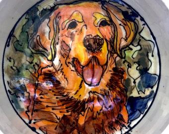 Personalized Dog Dish