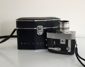 Bell and Howell camera and Bag