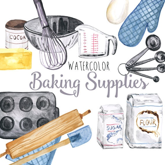Baking Tools And Equipment Clip Art | www.imgkid.com - The ...