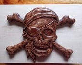 Pirate Home Decor, Wooden...