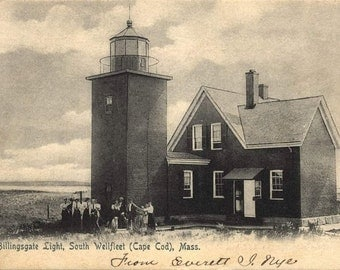 Billingsgate Light, South Wellfleet, Cape Cod, MA