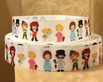 5 YDS Peter Pan Characters Ribbon