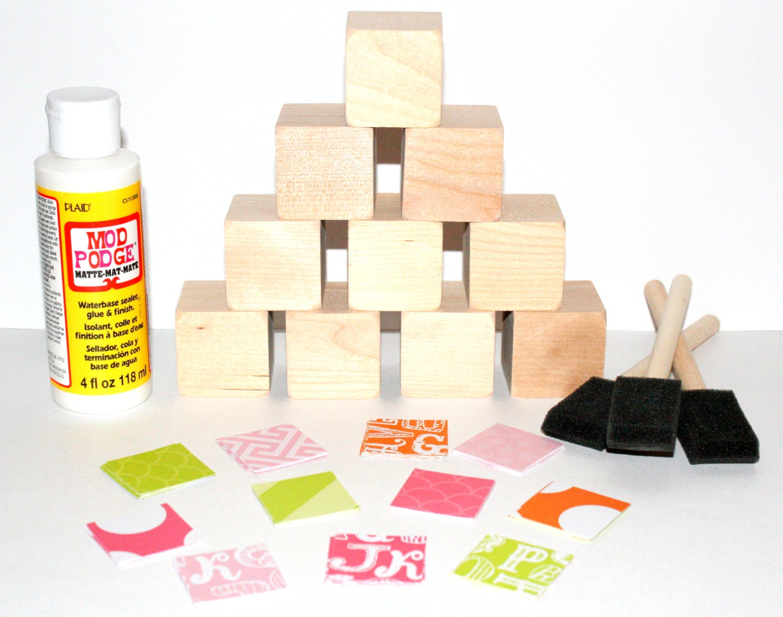 Alphabet blocks diy wooden baby blocks shower craft baby for Child craft wooden blocks