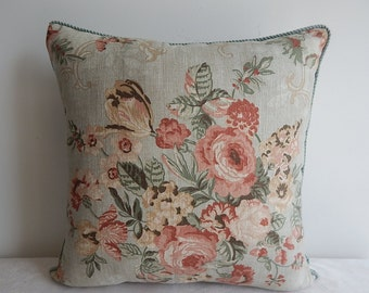 Floral 18x18, 19x19,20x20, pillow cover, throw pillow ,decorative pillow,accent pillow,same fabric on both sides.