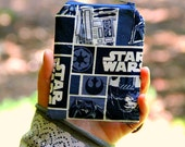 Star Wars Zippered Wallet | Zippered Pouch | Nerdy Girl Accessory | Coin Purse