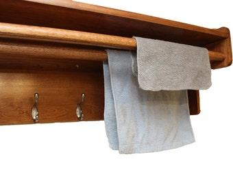 Organized Laundry Room Shelf | Mud Room Storage | Multi-function Shelf | Entrance Way Storage