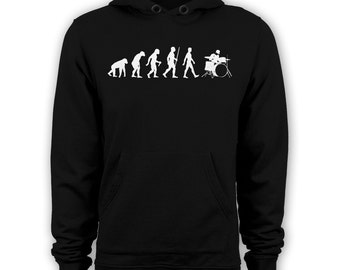 Evolution of the drummer hoodies percussion hoody