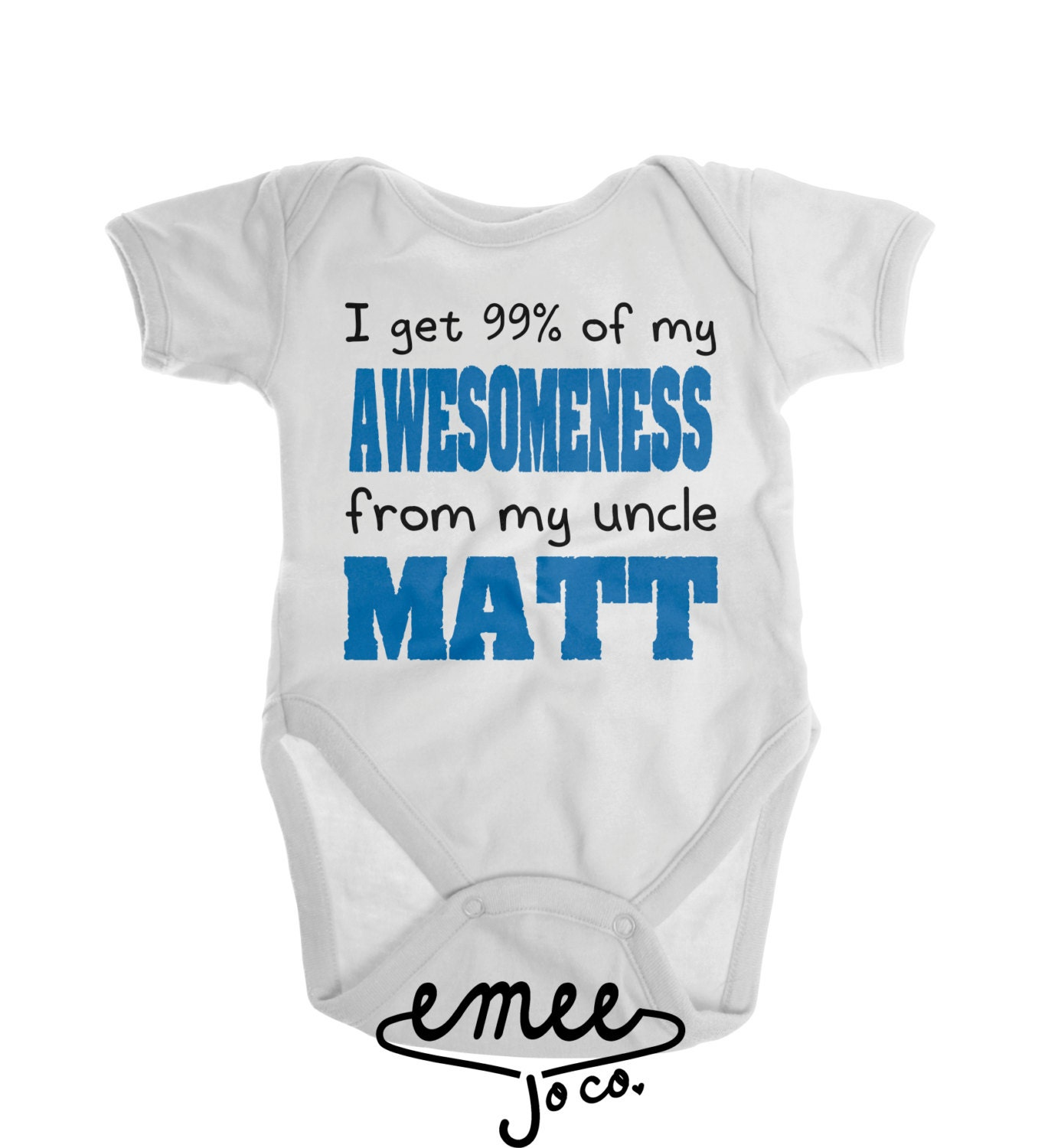 Baby Gift Ideas From Uncle : Funny baby clothes uncle gift tshirt by