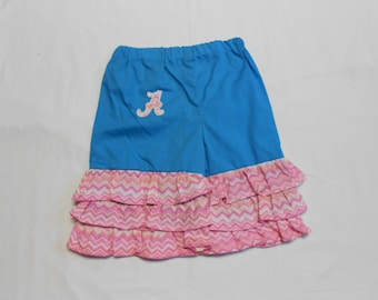 Girls' Alabama Pants, Ruffled